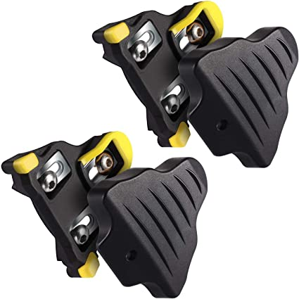 Bikes Cycling Pedals Cleats Shimano Sm-Sh11 Spd-Sl Bicycle Equipment Yellow Red