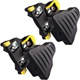 LANNIU Road Bike Cleats+Cleat Covers Set,Compatible with Shimano SPD-SL Pedals SM-SH11 Cleats,6 Degree Float for Road…