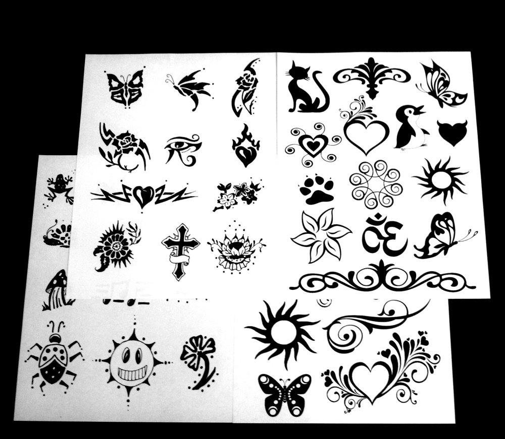 Do it yourself tattoo kit best tatto design 2018 diy henna tattoo kit natural and kits solutioingenieria Image collections