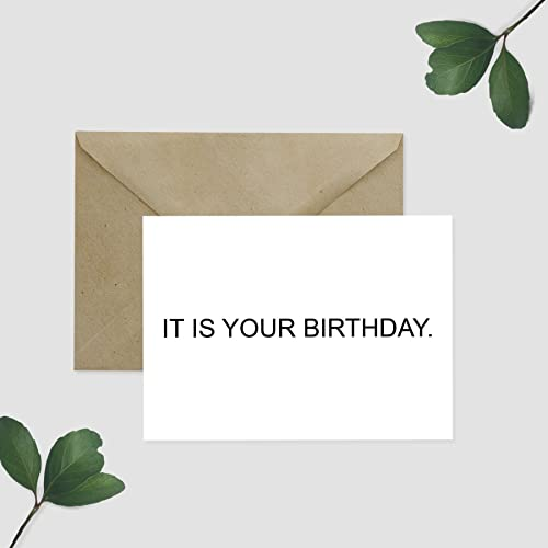 Amazon it is your birthday greeting card the office handmade it is your birthday greeting card the office bookmarktalkfo Gallery