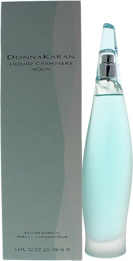 Donna Karan Liquid Cashmere Aqua 100ml3.4oz Eau De Parfum Perfume Spray for Her