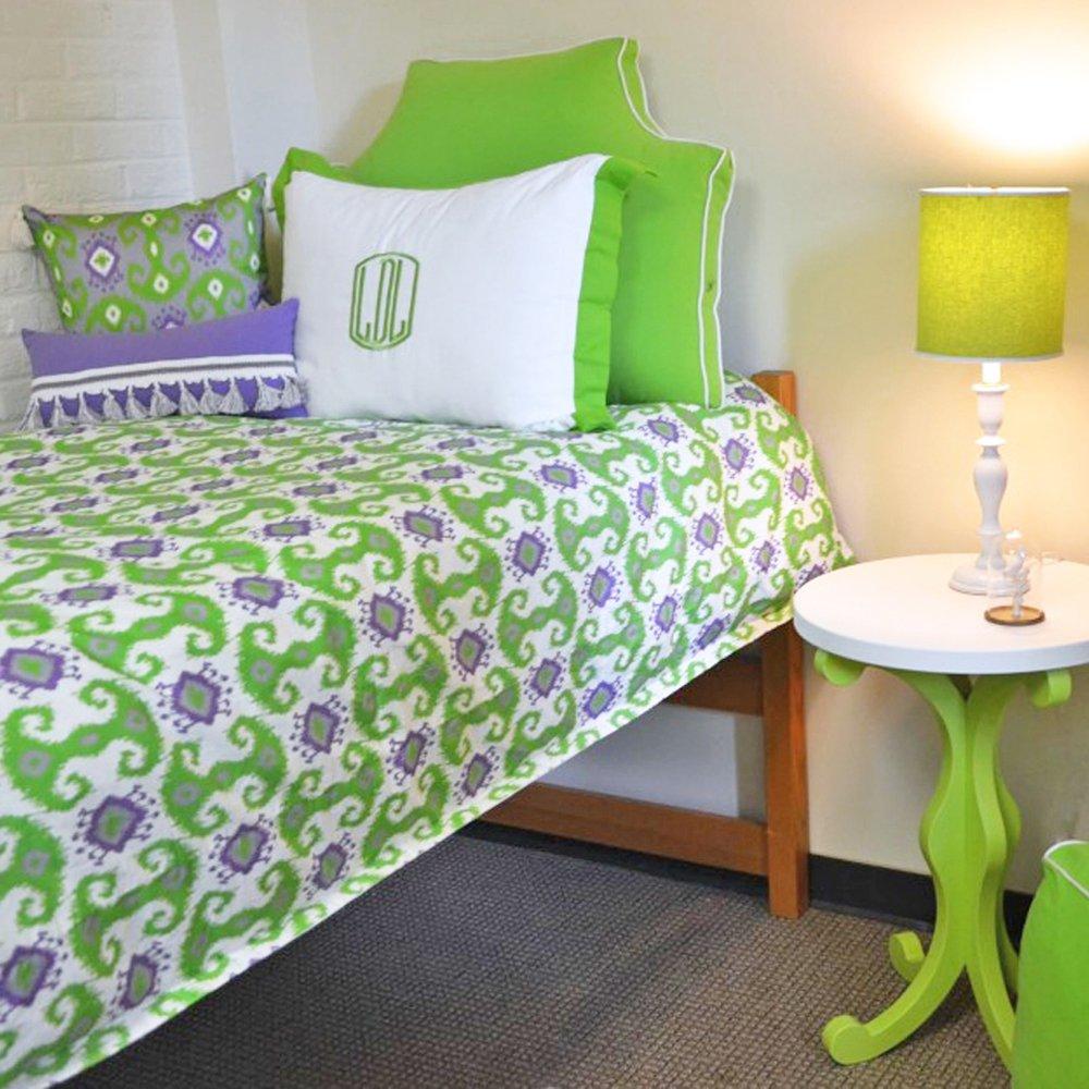 LeighDeux Headboard Pillow - Lime Twin