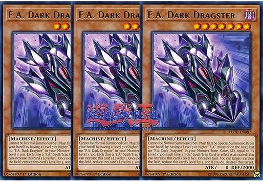 Yugioh F.A Dark Dragster MP19-EN060 1st Edition Common