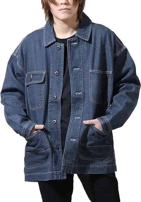 [ジップ セレクト] ZIP Select スラブデニムワークジャケット 052500