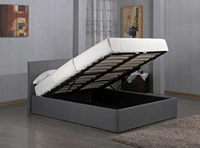 Ottoman Double Storage Bed u2013 Awesome Lift up Bed & Best Storage Bed 2018 | 07 Smart Minimalist Lift Up Storage Bed