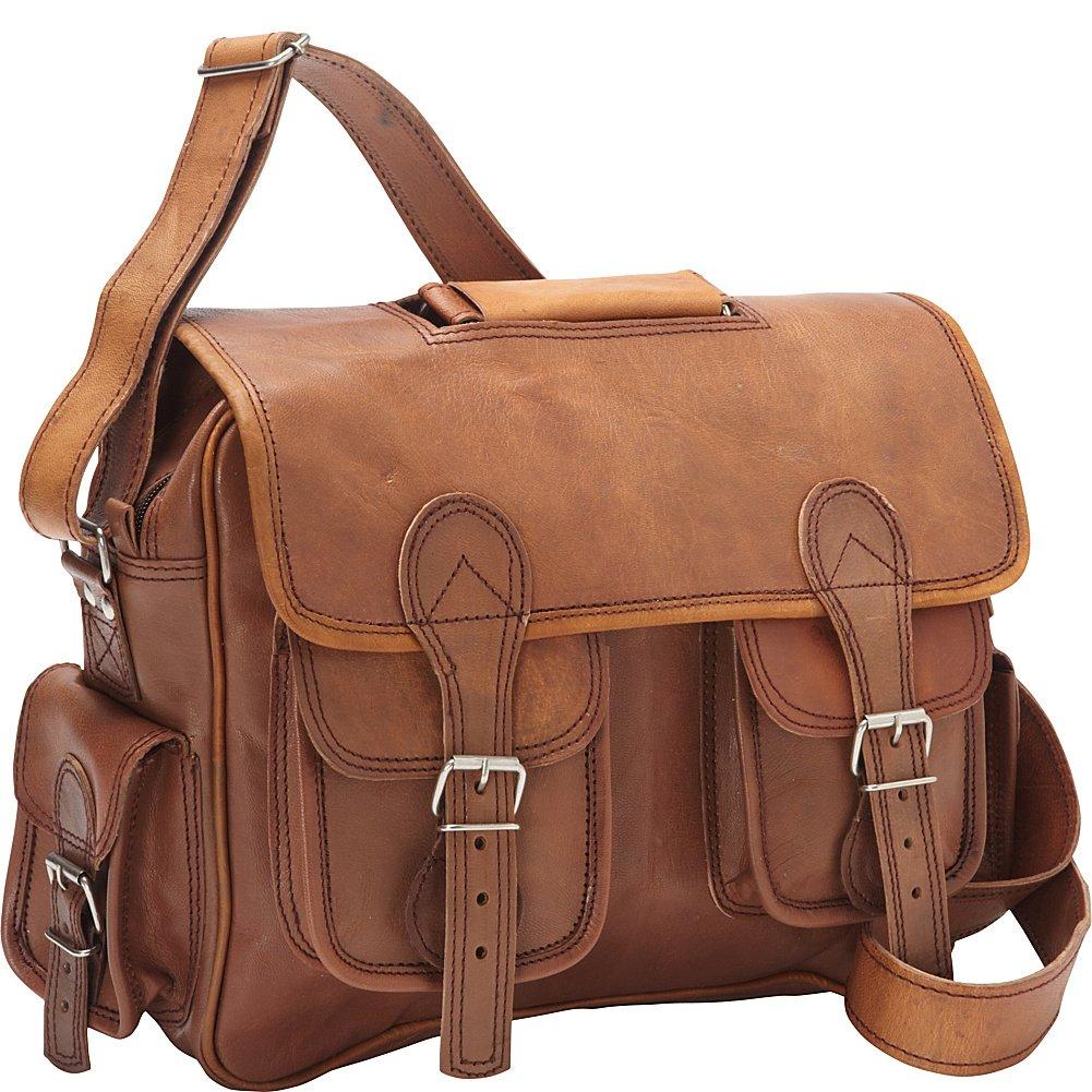 Sharo Leather Bags レディース  ダークブラウン B00ISBW9XY