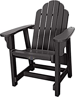 product image for Nags Head Hammocks Classic Conversation Chair, Black