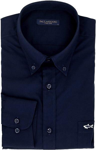 PAUL & SHARK Luxury Fashion Hombre C0P3001130 Azul Camisa | Otoño-Invierno 19: Amazon.es: Ropa y accesorios