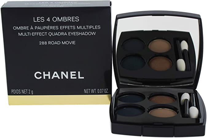Chanel Les 4 Ombres Sombras de Ojos Color 288 Road Movie Esmalte - 2 gr: Amazon.es: Belleza