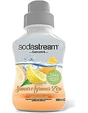 Sodastream Concentré Sirop Saveur Agrumes Zéro 500 ml