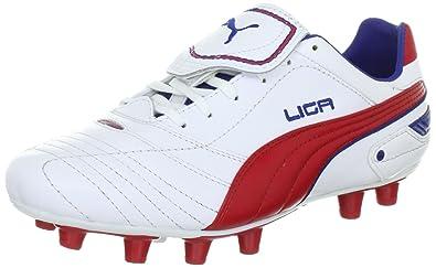 PUMA Liga Finale I FG Mens Soccer Boots Cleats-White-11 d5a2df21eee3