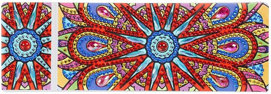 DIY Mandala - Estuche con 2 compartimentos para lápices: Amazon.es: Hogar