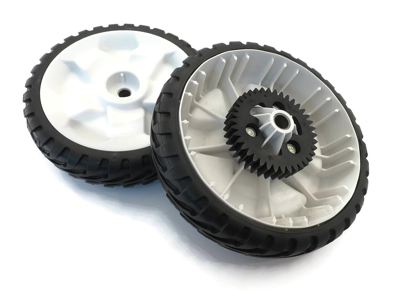 "[115-4695] Qty. 2 Genuine OEM Toro 8"" Drive Wheel Gears for 22"" / 55 cm RWD Recycler Push Lawn Mower"