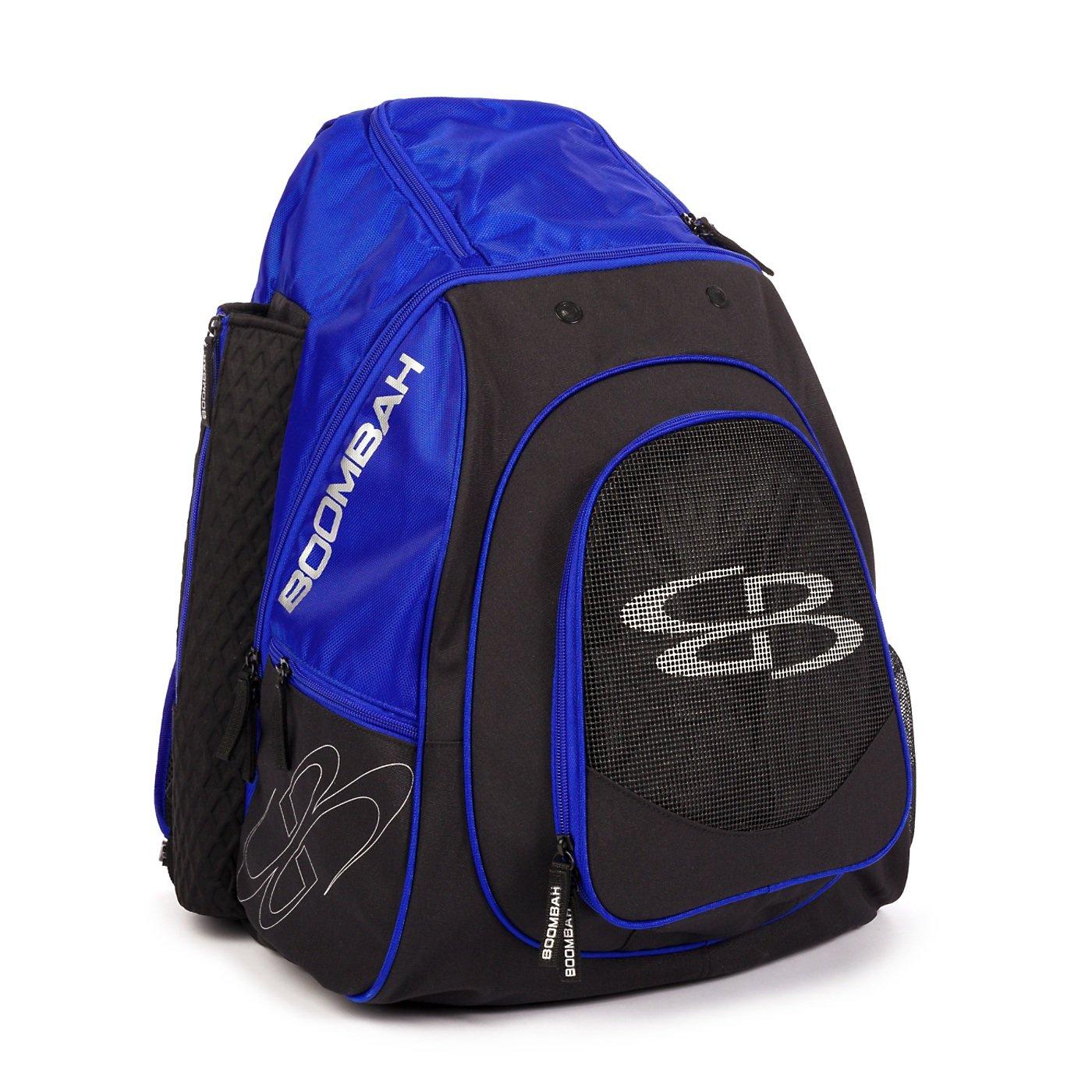 Boombah隊Bat Pack – 9カラーオプション B07BHXC8P2ブラック/ロイヤル(royal)