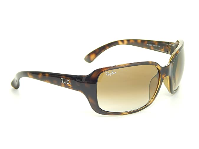 cdd525b66f Ray Ban RB4068 710 51 Tortoise Crystal Brown Gradient 60mm Sunglasses   Amazon.co.uk  Shoes   Bags