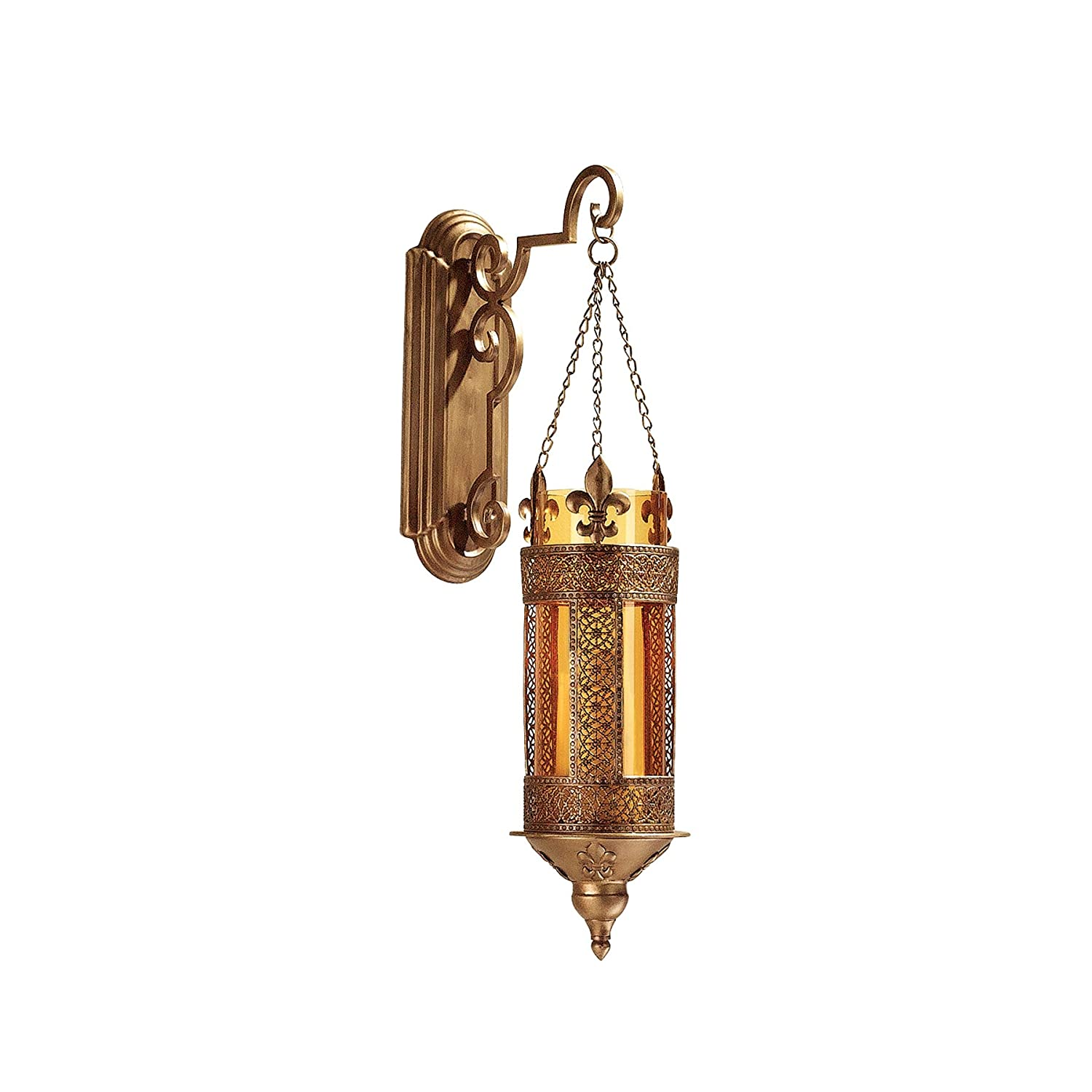 Design Toscano Kinnaird Castle Hanging Pendant Wall Sconce (Set of 2) MH982097