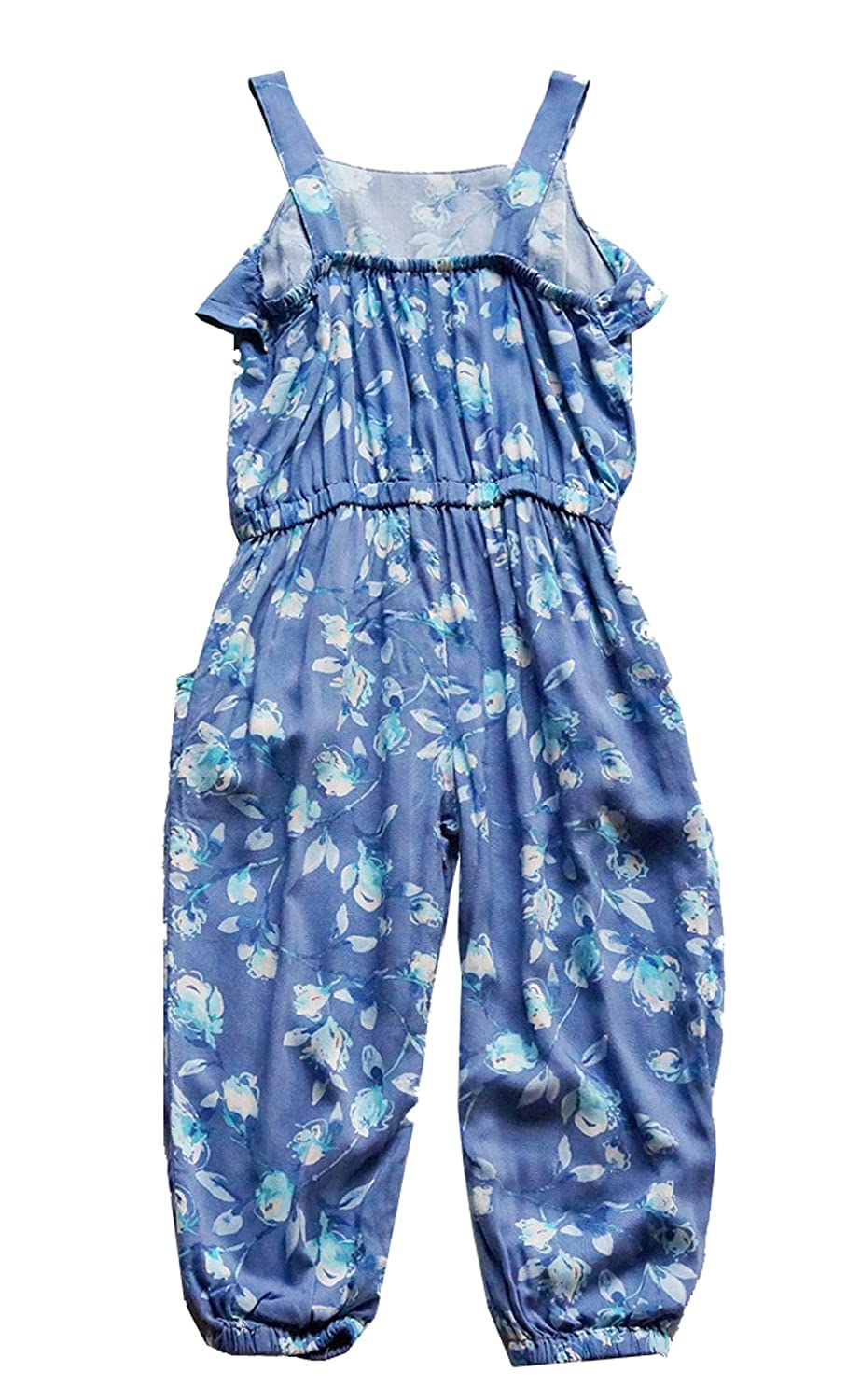 Fashion Baby Baby Little Girls Jumpsuit Romper Floral Printed Pant Outfit