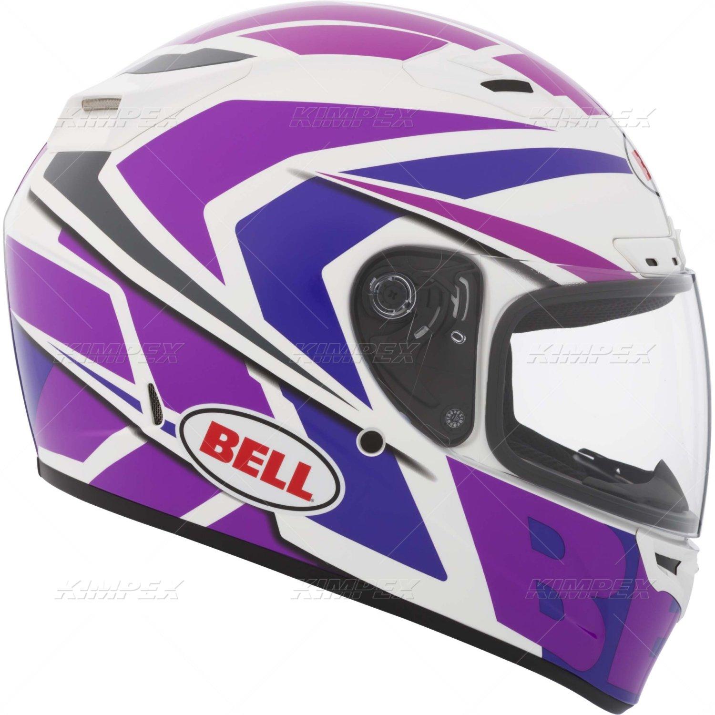 Bell Grinder Adult Vortex Sports Bike Motorcycle Helmet - Pink/Purple / Small