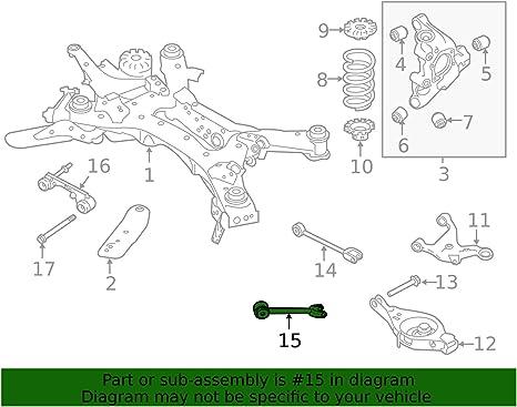Genuine Nissan 55110-ZX00B Radius Arm