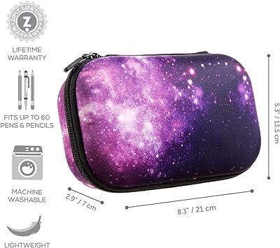 ZIPIT Fresh Colorz Pencil Box/Pencil Case/Storage Box, Galaxy