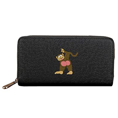 Amazon.com: Comical Monkey Butt - Monedero de piel con ...