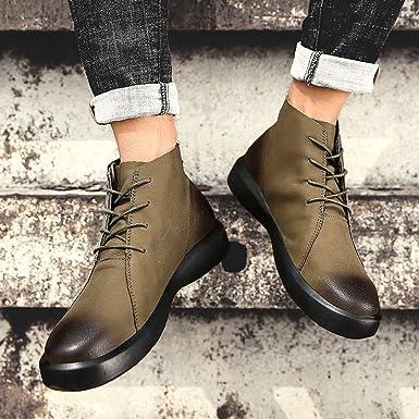Darringls_Zapatos de hombre,Zapatos Hombre Oxford Punta Casual Negocios Moda Invierno Casuales Formales Calzado: Amazon.es: Ropa y accesorios