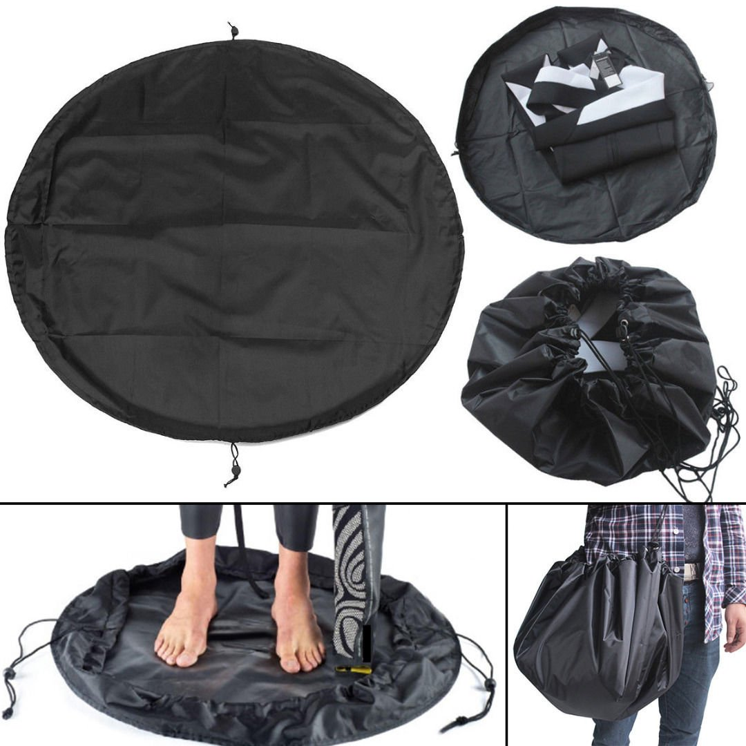 Wincom Dishman Water Sports WD 50CM Surfing Diving Wetsuit Change Bag Mat Waterproof Nylon Carry Pack Pouch for Water Sports