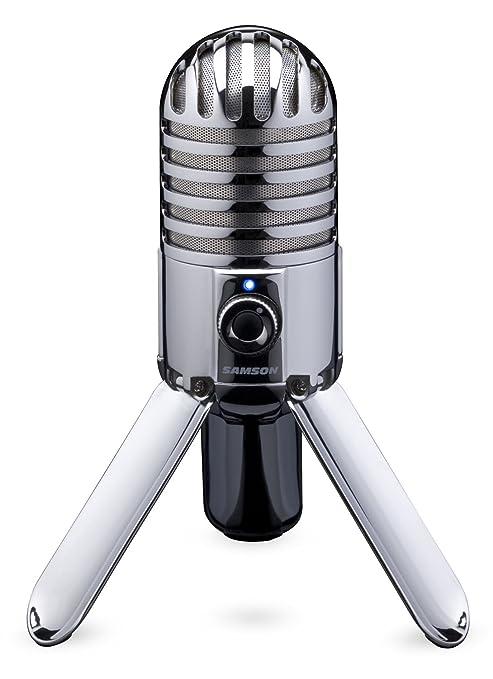425 opinioni per Samson METEOR MIC Microfono a condensatore cardioide USB