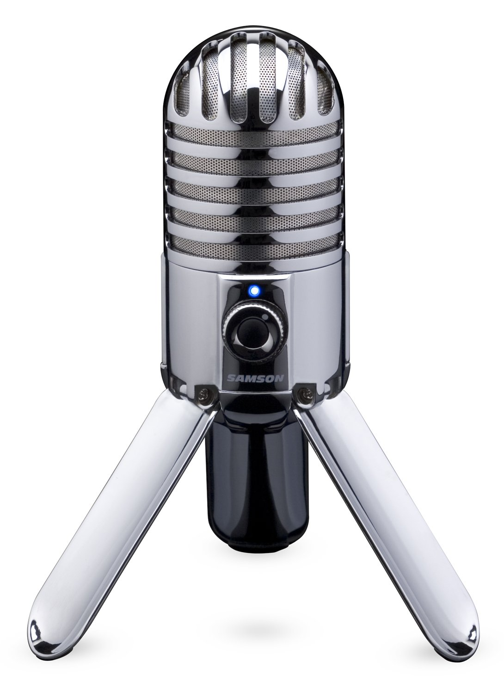 Samson Meteor Mic USB Studio Microphone (Chrome) by Samson Technologies