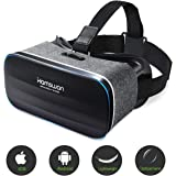 8093c1c20 HAMSWAN VR Headset, [Mother's Day Gift] Virtual Reality Headset, VR Glasses,
