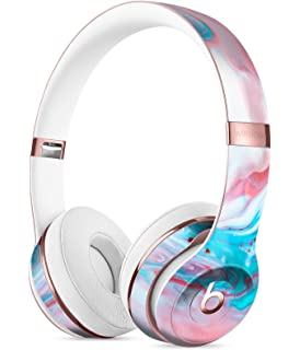 Marbleized Teal and Pink V2 DesignSkinz Full-Body Skin Kit for the Beats by Dre