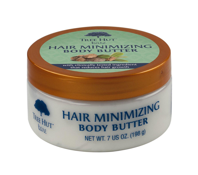 Tree Hut Bare Hair Minimizing Body Butter, 7 Ounce