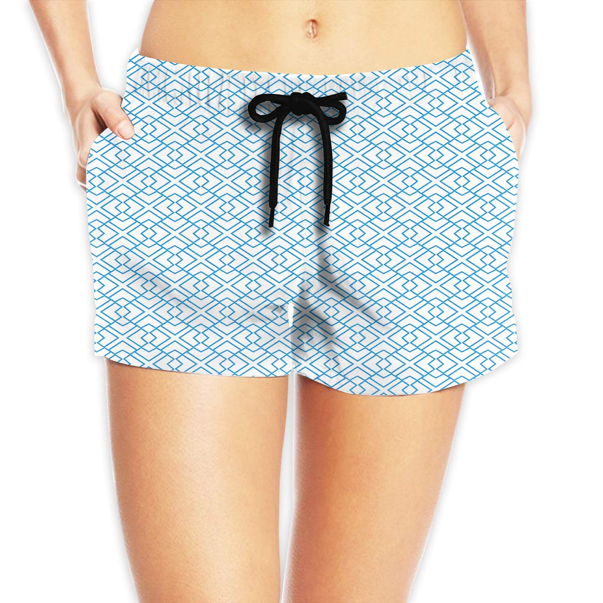 Womens Comfortable Hawaii Beach Camper Particular Beach Shorts Swim Trunks Board Shorts