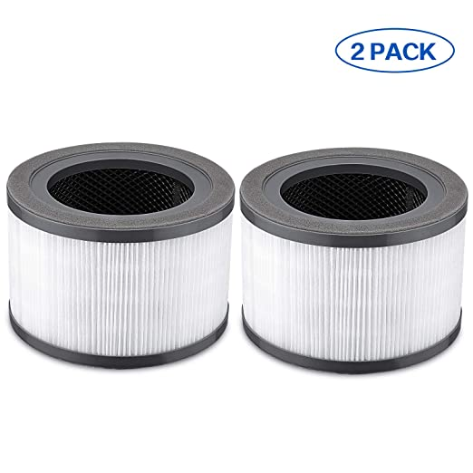 LINNIW 2 Pack purificador de Aire Filtro de Repuesto Compatible ...