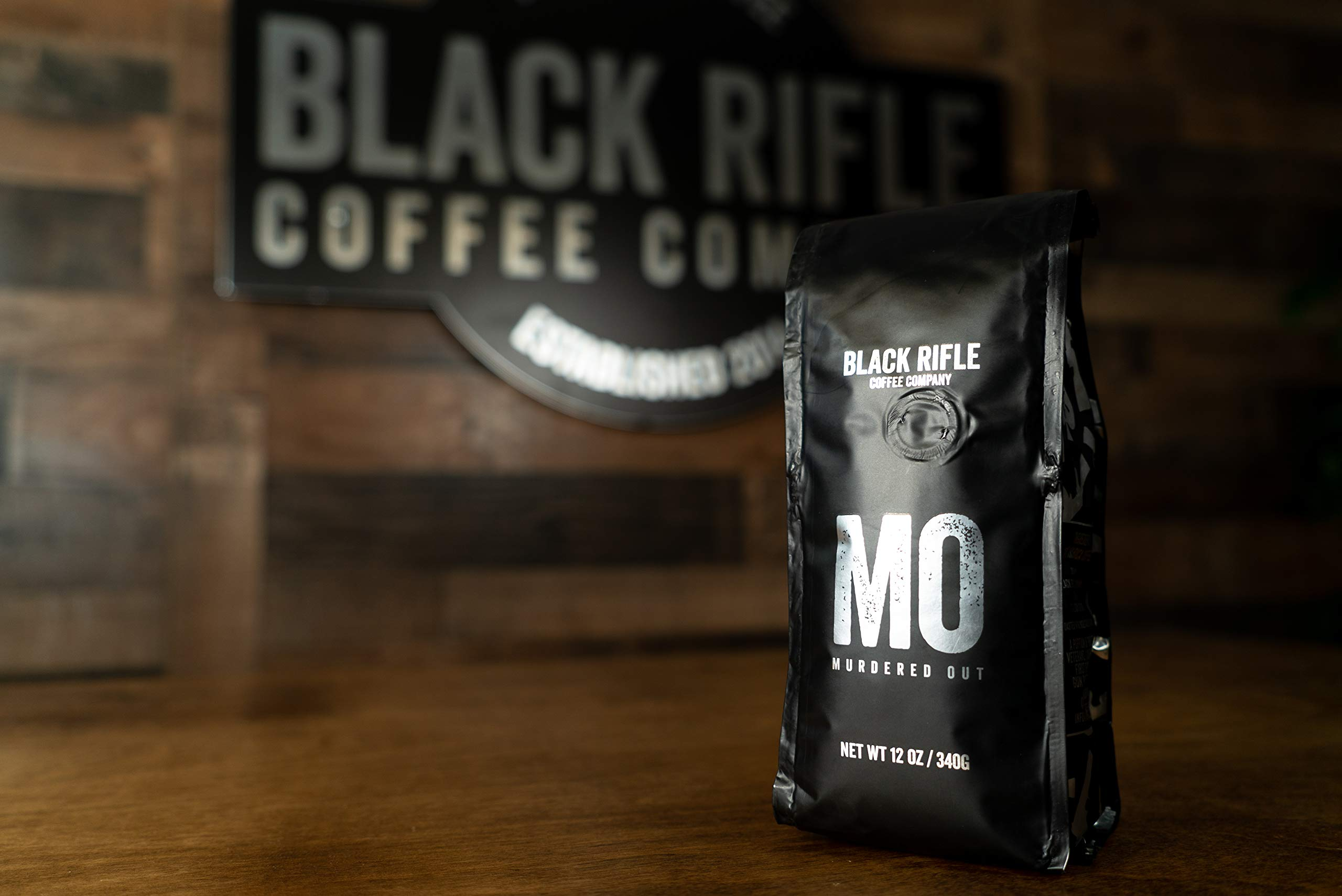 Black Rifle Coffee Company Murdered Out Coffee Dark Roast Ground, 12 Ounce Bag by Black Rifle Coffee Company (Image #4)