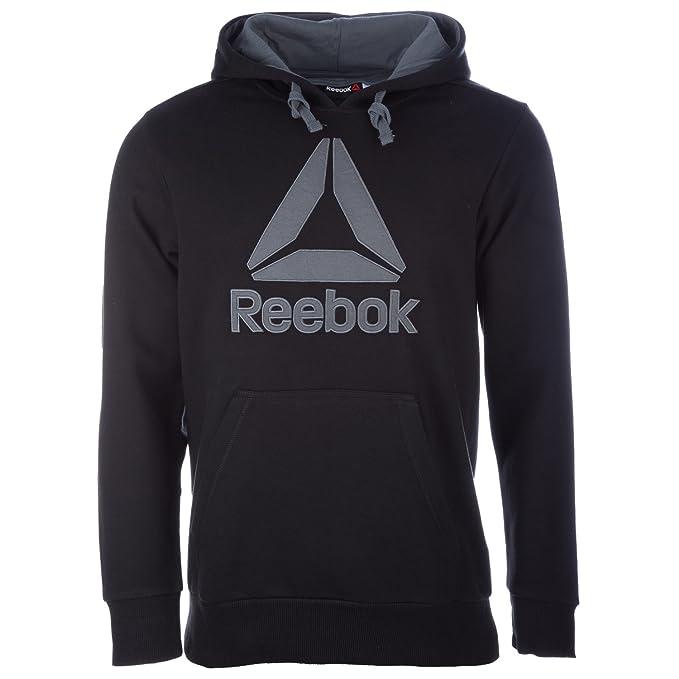 Reebok - Sudadera con capucha - para hombre negro negro Medium: Amazon.es: Ropa y accesorios