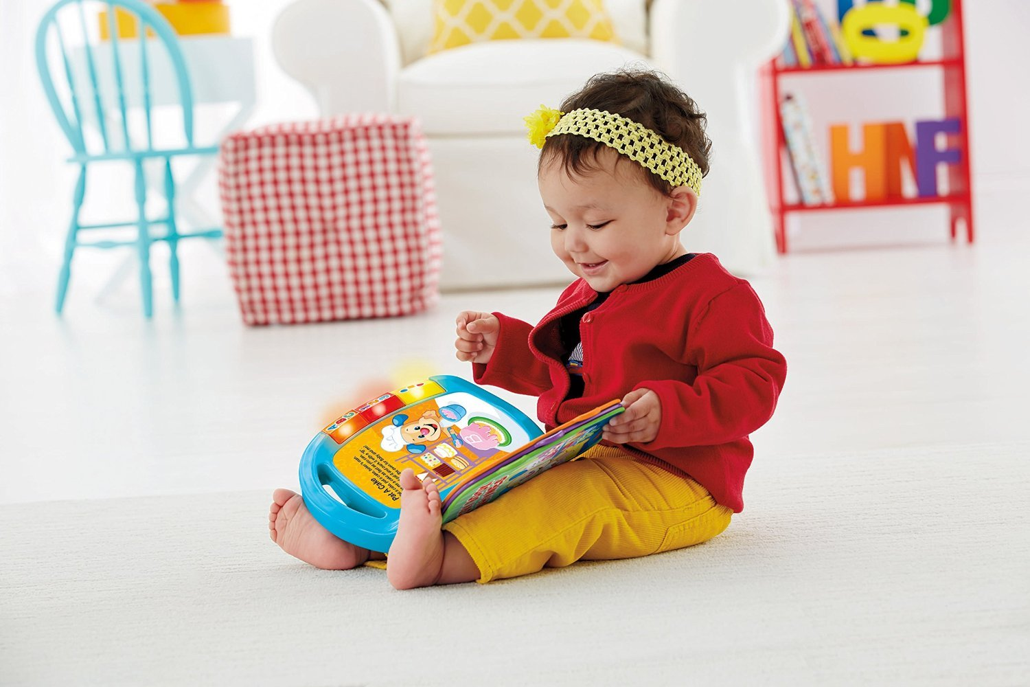 Fisher-Price Laugh & Learn Storybook Rhymes Book by Fisher-Price (Image #5)