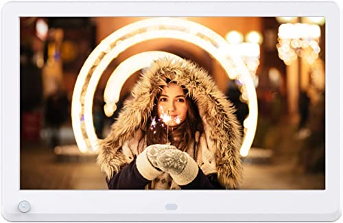 Atatat 11.6 Inch Digital Photo Frame with Motion Sensor, 1920×1080 IPS Screen, Digital Picture Frame Support 1080P Video, Music, Photo, Breakpoint Play,Adjustable Brightness,Auto-Rotate,Remote control
