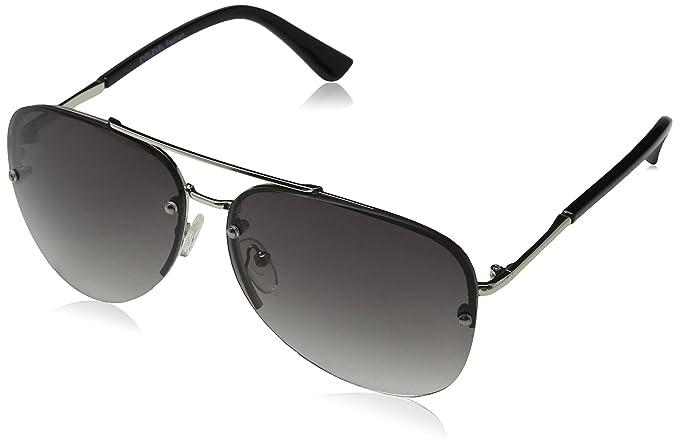 Eyelevel Perth, Gafas de Sol para Hombre, Negro (Black/Grey Gradient), 60
