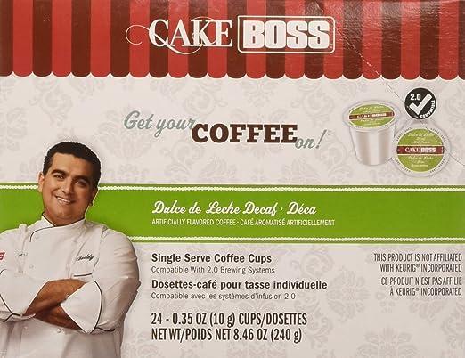 Cake Boss Coffee Dulce De Leche Decaf, 24 Count: Amazon.com: Grocery & Gourmet Food