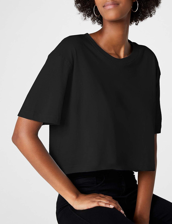 Urban Classics Damen Oversize Cropped Top Ladies Short Tee