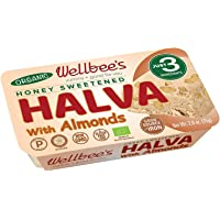 Wellbee's Honey Halva - Paleo & SCD Approved - No Additives, Refined-Sugar, or Artificial Sweeteners - 75g Each - 3 Pack…