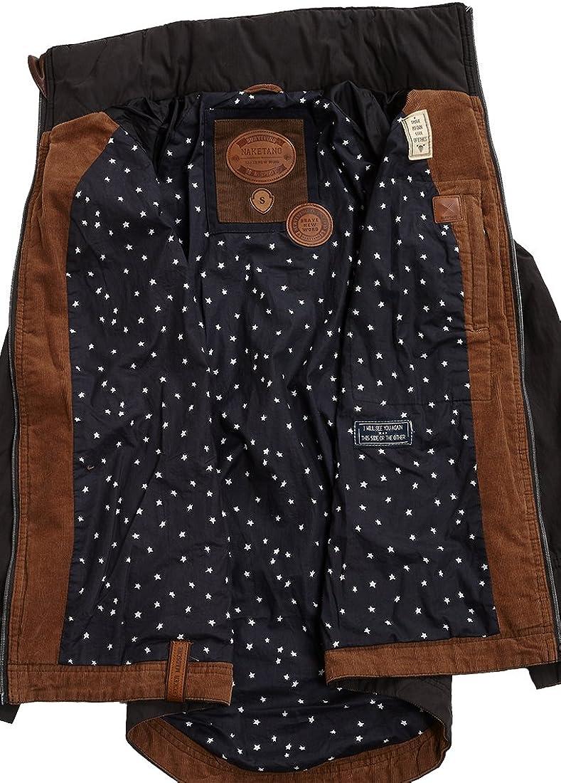 Naketano Damen Jacke Gezielt Poppen Jacke black