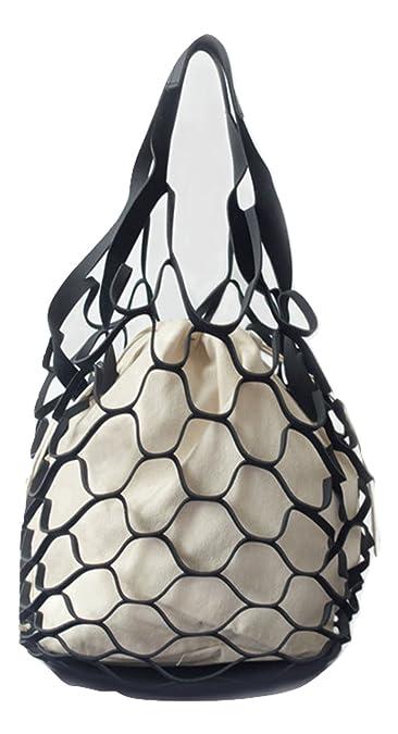 45028a0431 Nautical Purse Beach Bag Tote Inspired By a Fishnet (Medium