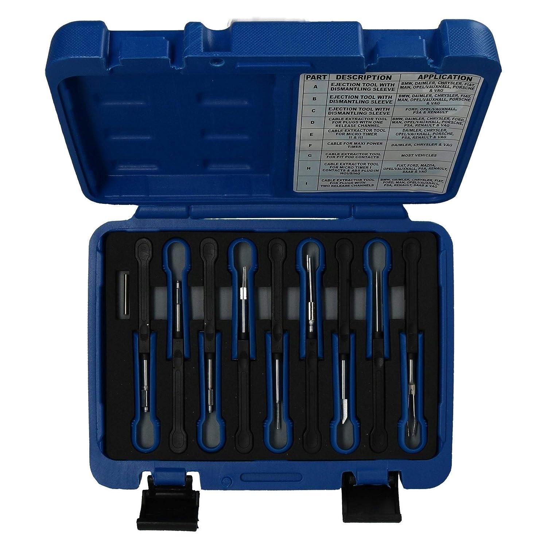 AB Tools-US Pro 12pc Terminal Universal de liberaci/ón Juego de Cables del Conector eliminaci/ón
