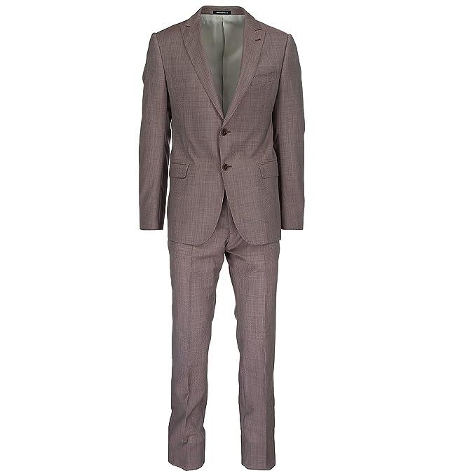 Emporio Armani traje de hombre nuevo rojo EU 50 (UK 40) W1VMGBW1508340