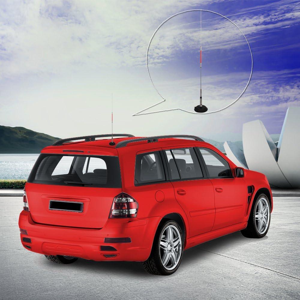 HYS AZ507R Dual Band SL 16 Connector Wireless 29.5 inch Dismountable Portable Car Antenna Mobile Car Long Antenna