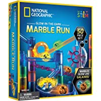 National Geographic - Glow-In-The-Dark Marble Run (50 piece set)