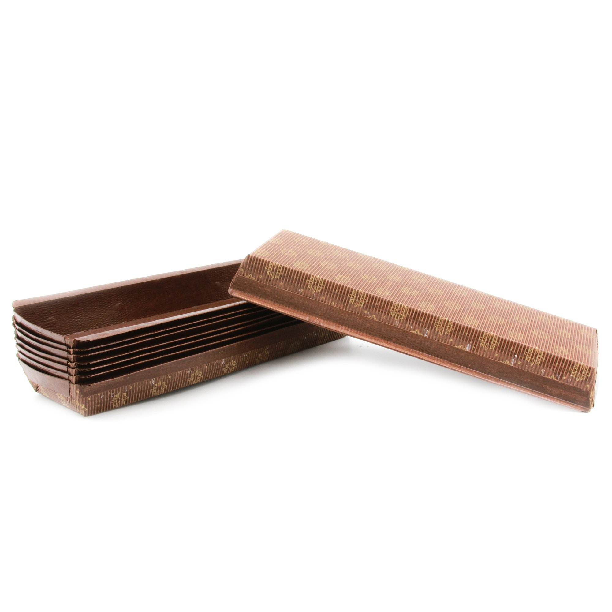 Premium Paper Baking Loaf Pan, Perfect for Chocolate Cake Banana Bread Set of 50 - by EcoBake by Ecobake