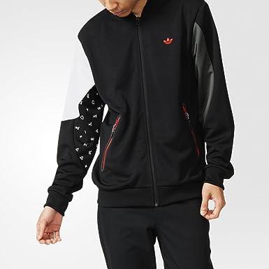 adidas Originals Men's Winter Tech Superstar Track Jacket ...